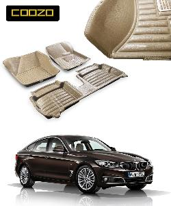 Coozo 5d Car Mat For Bmw 3 Series Beige Color