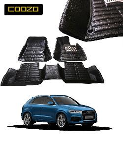 Coozo 5d Car Mat For Audi Q5 Black Color