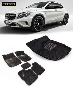Coozo 3d Car Mat For Mercedes Gla Class Black Color