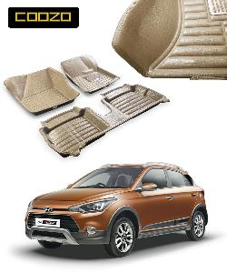 Coozo 5d Car Mat For Hyundai I20 Active Beige Color