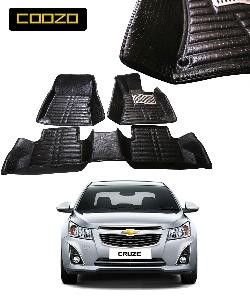 Coozo 5d Car Mat For Chevrolet Cruze Black Color