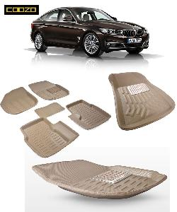 Coozo 3d Car Mat For Bmw 3 Series Beige Color