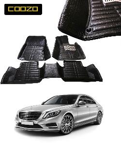 Coozo 5d Car Mat For Mercedes S Class Black Color