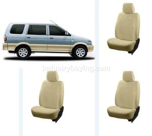 Oscar Chevrolet Tavera Car Seat Cover Beige Aut Sn 3992
