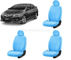 Oscar Honda City Car Seat Cover Sky Blue Aut-Sn-4330