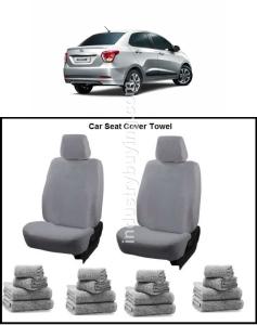 Buy Oscar Hyundai Xcent Car Seat Cover Grey Aut Sn 4196 Online In