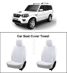 Peachy Buy Oscar Mahindra Scorpio Car Seat Cover White Aut Sn 4518 Creativecarmelina Interior Chair Design Creativecarmelinacom