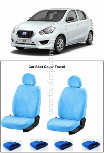 Speedwav Datsun Go Car Seat Cover Sky Blue