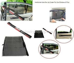 Autofurnish Sun Shades For Volkswagen Touareg Set Of 4 Pieces
