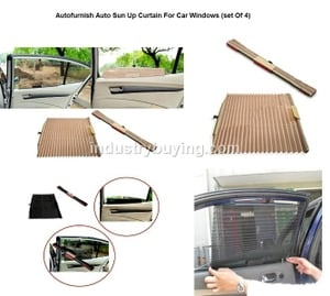 Autofurnish Sun Shades For Maruti Suzuki Zen Set Of 4 Pieces