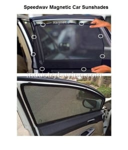Speedwav Sun Shades For Mahindra Scorpio Crde Set Of 4 Pieces