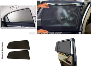 Oscar Magnetic Sun Shades For Nissan Terrano Set Of 6 Pieces