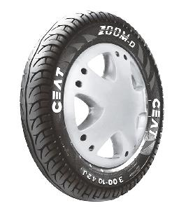 Ceat Zoom D Ventless 90/100-10  Tubeless Tyre For Scooter