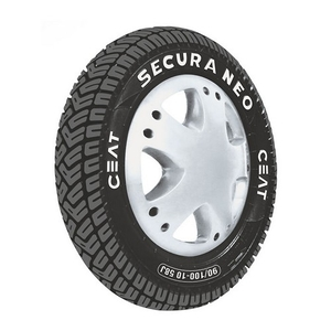 Ceat Secura Neo 4ply 51j 3.50-10  Tube Type Tyre For Scooter