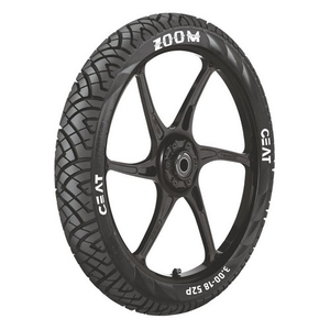Ceat Zoom 61p 120/80-17 Tubeless Tyre For Motorcycle