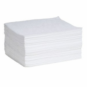 Spilltech Oil-Only Meltblown Small Weight Pads - White Wp100s