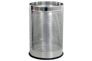 King International Dustbin Silver 8000 Ml