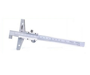 Insize 200 Mm Hook Type Vernier Depth Gauge 1248-2001