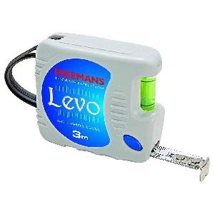 Freemans 2 M Pocket Steel Measuring Tape Levo
