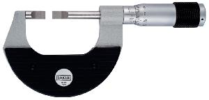 Baker 75-100 Mm Blade Type Outside Micrometer Mma100-Nb