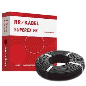 Buy RR Kabel FR PVC Insulated Cable Black 200m 2.5 Sq. mm Online in ...