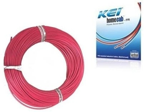 Kei 4 Sq.Mm (Length 90 M) Fr Pvc Insulated Cable Red