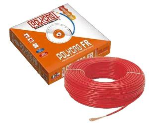 Polycab 1.5 Sq.Mm (Length 90 M) Fr Pvc Insulated Cable Red
