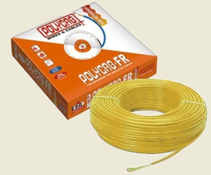 Polycab 1 Sq.Mm (Length 90 M) Fr Pvc Insulated Cable Yellow