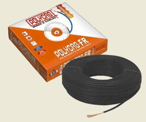 Polycab 1.5 Sq.Mm (Length 90 M) Fr Pvc Insulated Cable Black