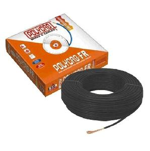 Polycab 10 Sq.Mm (Length 90 M) Fr Pvc Insulated Cable Black