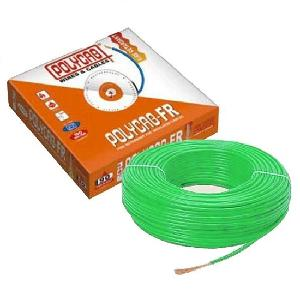 Polycab 1 Sq.Mm (Length 90 M) Fr Pvc Insulated Cable Green