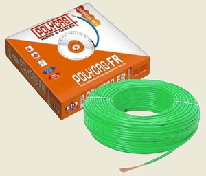 Polycab 4 Sq.Mm (Length 90 M) Fr Pvc Insulated Cable Green