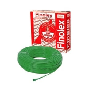 Finolex 10306 4 Sq.Mm 24 A 90 M Flame Retardant Cable Green