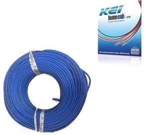 Kei 1 Sq.Mm 14 A 90 M Flame Retardant Cable Blue