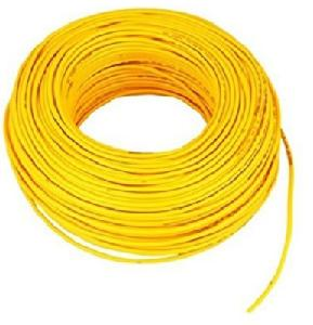 Buy Plaza FR PVC Insulated Cable Yellow Color 6 Sq. mm 720 m Online ...