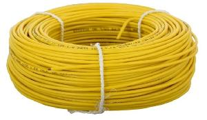 Jyoti Fr Pvc Solid Housing Wire Dia 2.5 Sq Mm Color Yellow