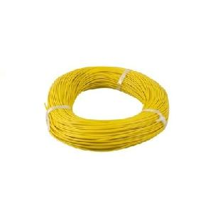 Pridee 4mm Yellow Pvc Insulated Cables 90 Meter Length
