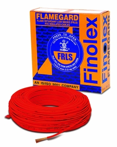 Finolex Flame Retardant Low Smoke Halogen Cable Red 180 M 6 Sq.Mm