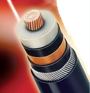 Polycab Aluminium Armoured Round Cable Single Core240 Sq.Mm 33 Kv (E)