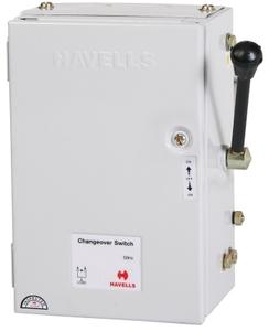havells onload changeover switch 2 pole 32 amp 240 volt ihcfde0032. Black Bedroom Furniture Sets. Home Design Ideas