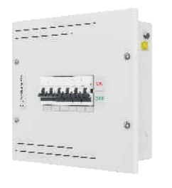 L&T Dbspn006sd 6 Way Single Phase (Spn) Db