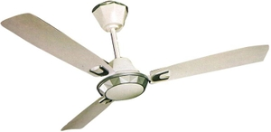 Crompton Diamond 1200 Mm Silver White Decorative Ceiling Fan