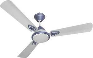 Havells Fusion Beige Brown 900 Mm 3 Blades Blue White Ceiling Fan