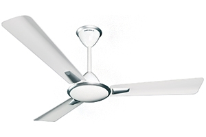 Crompton Aura ( Metallic Shades) 600 Mm 3 Blades New White Ceiling Fan