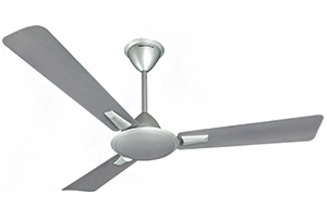 Crompton Aura ( Metallic Shades) 1200 Mm 3 Blades Himalayan Grey Ceiling Fan