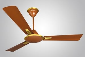 Crompton Aura 900 Mm 3 Blades Brown Ceiling Fan