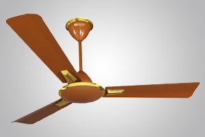 Crompton Aura 1400 Mm 3 Blades Brown Ceiling Fan