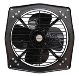 Almonard Sweep Size 305 mm Medium Duty Fresh Air Exhaust Fan Dia 12 Inch  1300 RPM