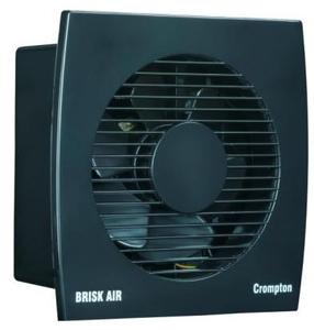 Crompton Brisk Air (Shutter Type) 200 mm 1300 RPM 30 W 8 Inch Exhaust Fan