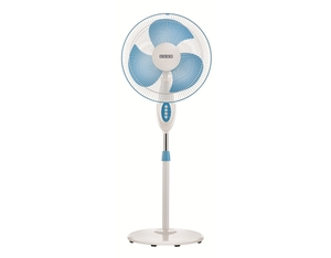 Usha Helix Pro High Speed 3 Blade White Blue Pedestal Fan
